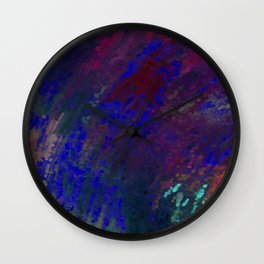 Crying Rain Wall Clock