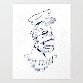 Captain Fury Art Print