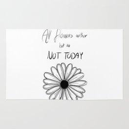 Not Today | BTS Rug