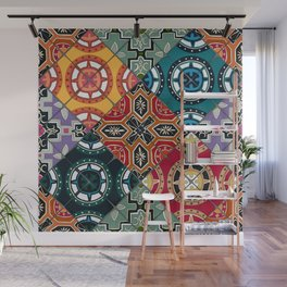 DESEO BOLD spanish tiles Wall Mural