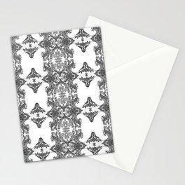 Ornament - Tree of Life - Rebirth - Mehndi Love - White #1 G Stationery Cards