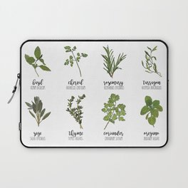 Herbs Laptop Sleeve