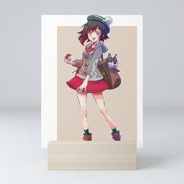 RWBY Ruby Rose Mini Art Print