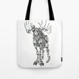 Motor Moose Tote Bag