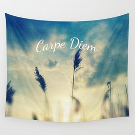 Carpe Diem Wall Tapestry