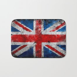 UK Grunge flag Bath Mat