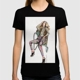 Floral Fashion T-shirt