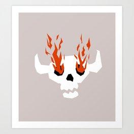 I see fire Art Print