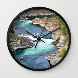 River's Edge Wall Clock