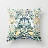 comic book Throw Pillows featuring Comic Book by András Récze