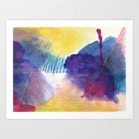 purpleone Art Print