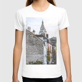French street in Montmartre, Paris T-shirt
