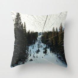 Lift II Throw Pillow
