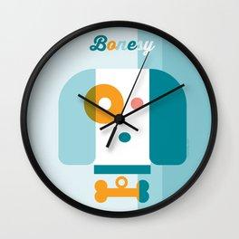 Bonesy the Dog Wall Clock