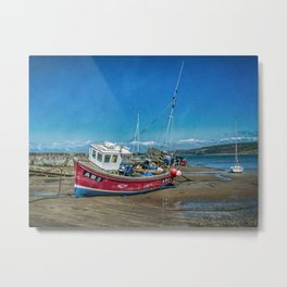 The AB2 at Newquay Metal Print