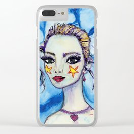 Gisella Clear iPhone Case