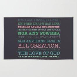 Romans 8:38-39 Rug