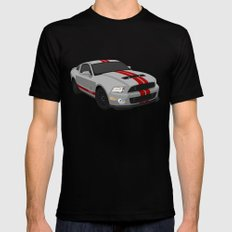 GT500 Black Mens Fitted Tee SMALL
