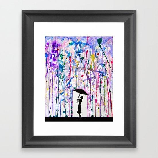 Deluge Framed Art Print