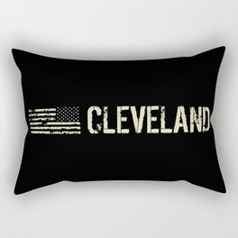 Black Flag: Cleveland Rectangular Pillow