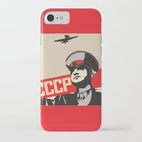 soviet iPhone & iPod Cases featuring SOVIET RED ARMY by Sofia Youshi