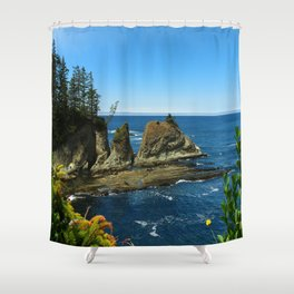 Coos Bay Shower Curtain