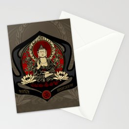 Gautama Buddha Stationery Cards