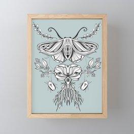 Black Mirror - Moss Framed Mini Art Print