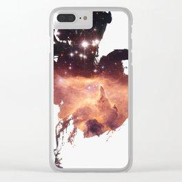 Drops of Nebula VI Clear iPhone Case