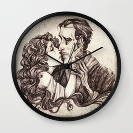 To Love Another Person Is To See The Face Of God Wall Clock