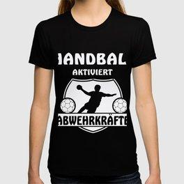 Handball activates defence poser ball sport T-shirt