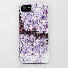 Aethereal Interchange iPhone Case