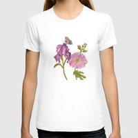 botanical T-shirts featuring Botanical by Catherine Holcombe