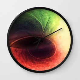 Tunnel Vision Distortion Wall Clock