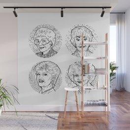 The Golden Girls Wall Mural