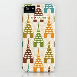 I love Kazan iPhone Case