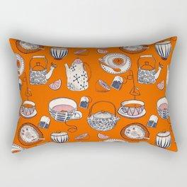 TEA PARTY for TEA LOVERS  Rectangular Pillow