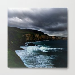 Irish Seascape Metal Print