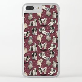 The Polish Lowland Sheepdog Clear iPhone Case