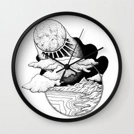 Moonlit World Wall Clock