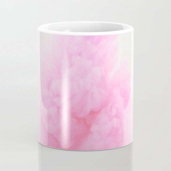 Pastel pink smoke Coffee Mug