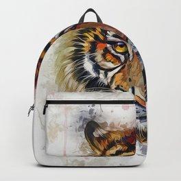 Tigers Eyes Backpack
