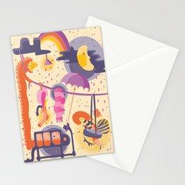 Magic Rainbow Stationery Cards