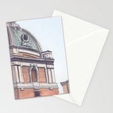 SANTA MARIA DI LORETO, Rome Travel Sketch by Frank-Joseph Stationery Cards