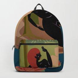 Kuan Yin Beneath a Willow Backpack