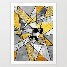 FRAGMENT SKULL Art Print
