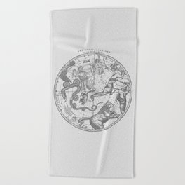 The Constellations Beach Towel
