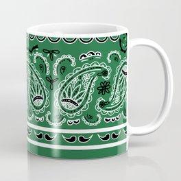 Classic Green Bandana Coffee Mug
