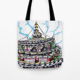 Beopjusa Temple Tote Bag