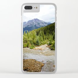 Mineral Creek - After Rains High in the Mountains Clear iPhone Case